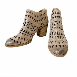 SOFFT| NWOB Westwood Cut Out Leather Booties 11